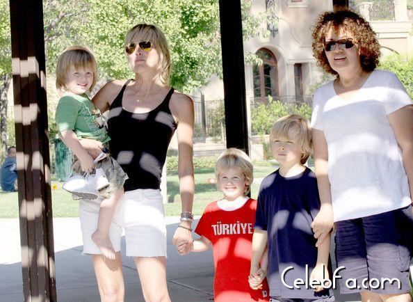 Sharon-Stone-Sons-Park-celebfa-com