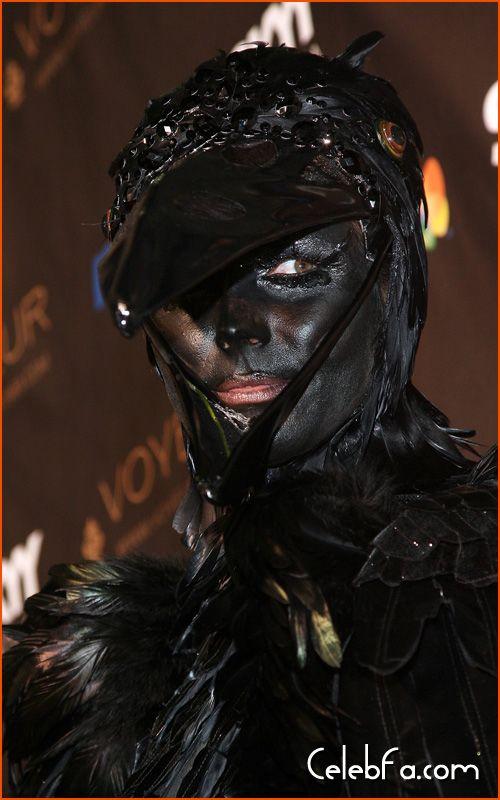 Heidi Klum Halloween celebfa-com