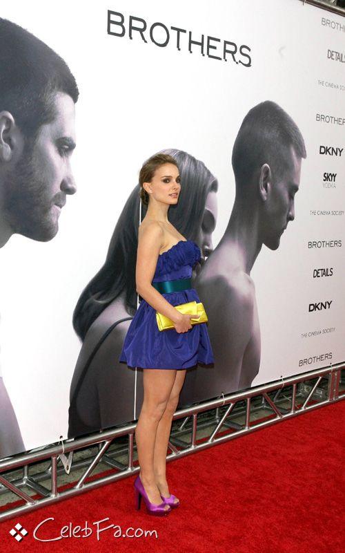 """عکس های ناتالی پورتمن در فرش قرمز اکران فیلم """" برادران """" در نیویورک http://sonia.blogsky.com/"""