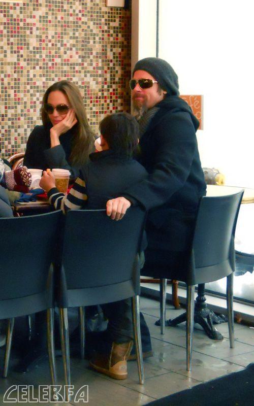 عکس آنجلینا جولی و براد پیت
