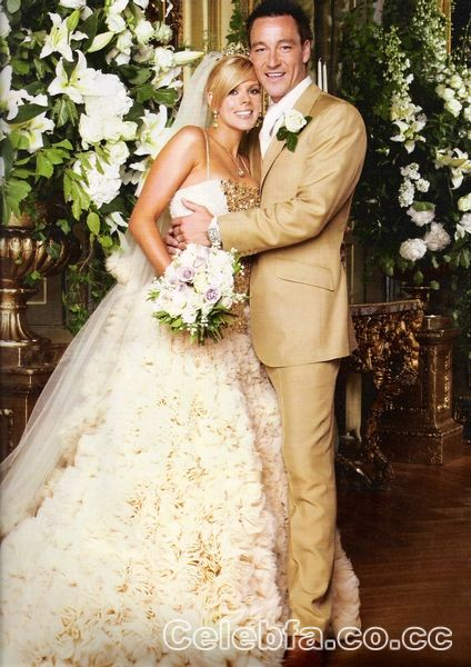 عکس عروسی خاله شادونه http://celebfa2.wordpress.com/2010/02/10/john-terry-wedding-divorce/
