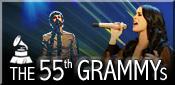 صفحه ویژه مراسم اهدا جوایز موسیقی گرمی Grammy Awards 2013