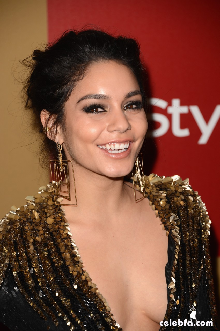 Vanessa Hudgens InStyle-Warner Bros Golden Globes Party Party 2013-CelebFa (1)