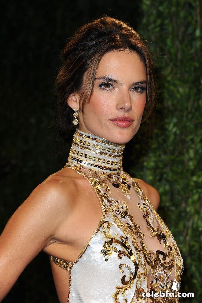 Alessandra Ambrosio Vanity Fair Oscars Party 2013