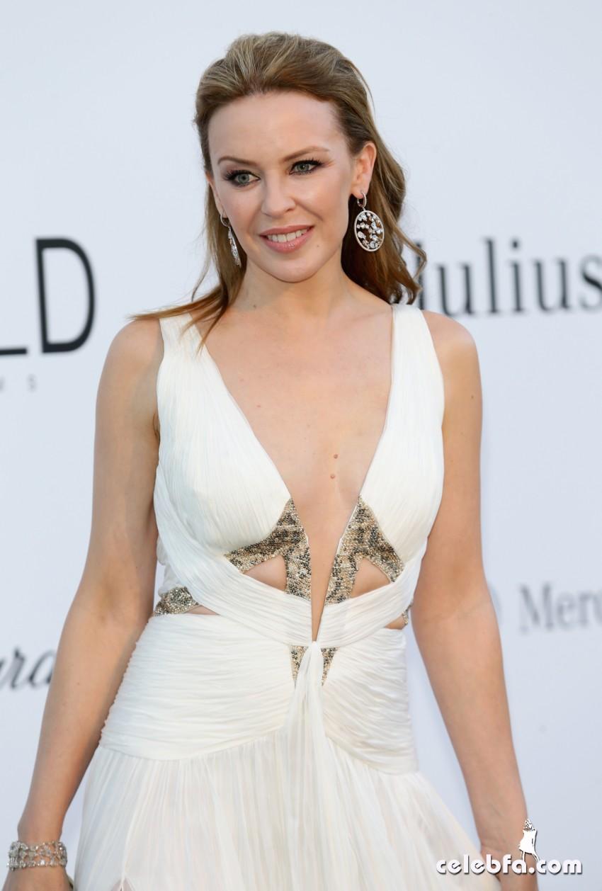 Kylie Minogue - amfAR (1)