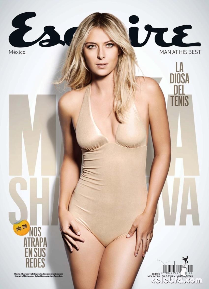 Maria Sharapova -Esquire Latin America-CelebFa_Com (1)