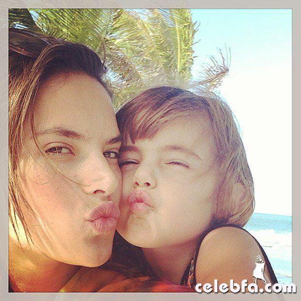 Alessandra Ambrosio's daughter, Anja_celebf