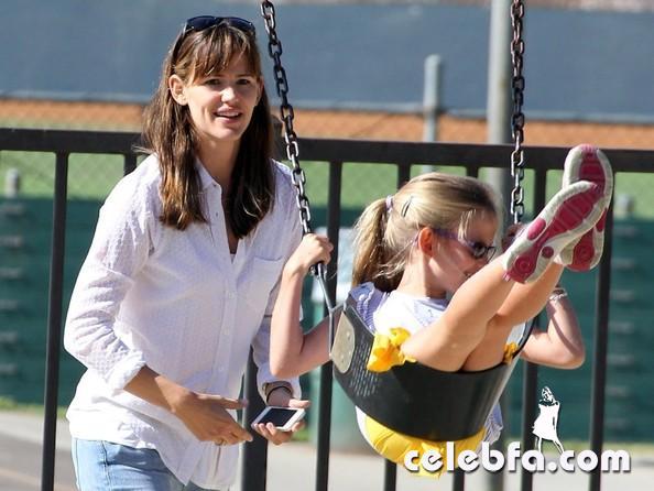 Jennifer+Garner+Violet+Visit+Park+Pacific+YRQpYGyH1xLl