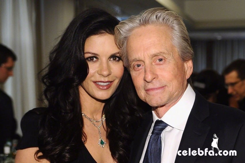 michael douglas - catherine zeta jones-CelebFa (1)