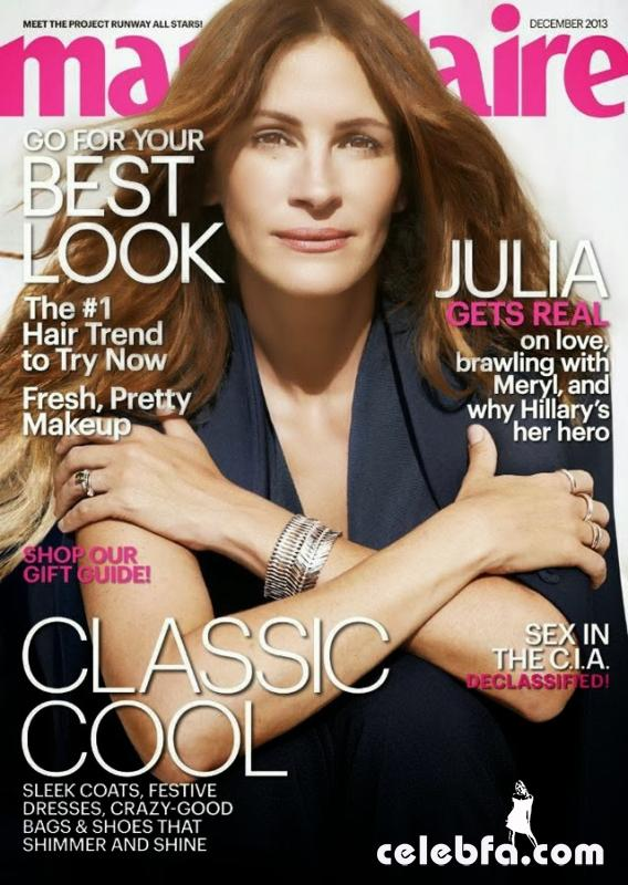 Julia Roberts for Marie Claire US December 2013-002