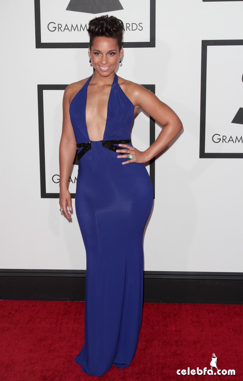 CA: 56th Grammy Awards - Red Carpet Arrivals