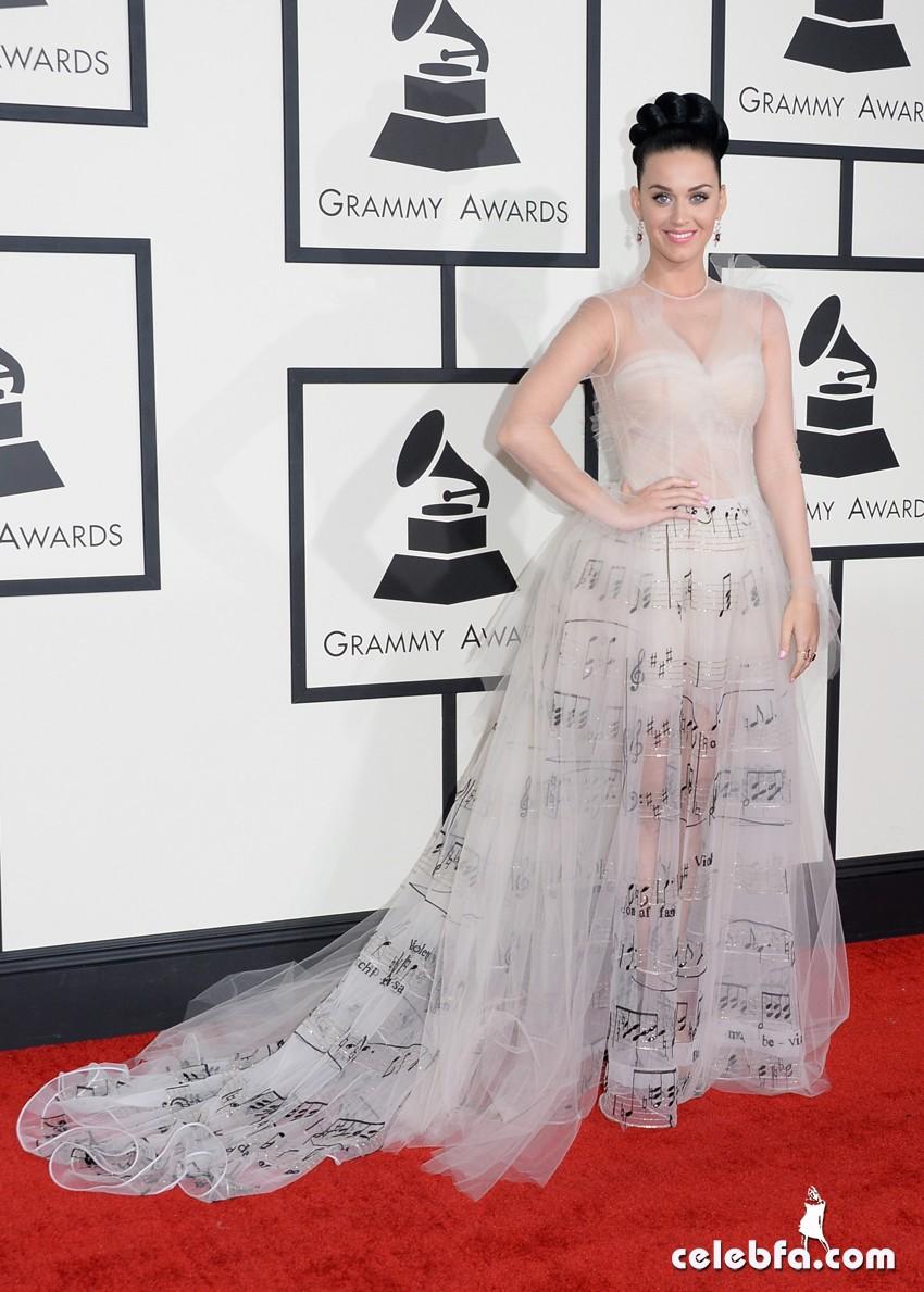 Katy Perry-grammy awards 2014-CelebFa (1)