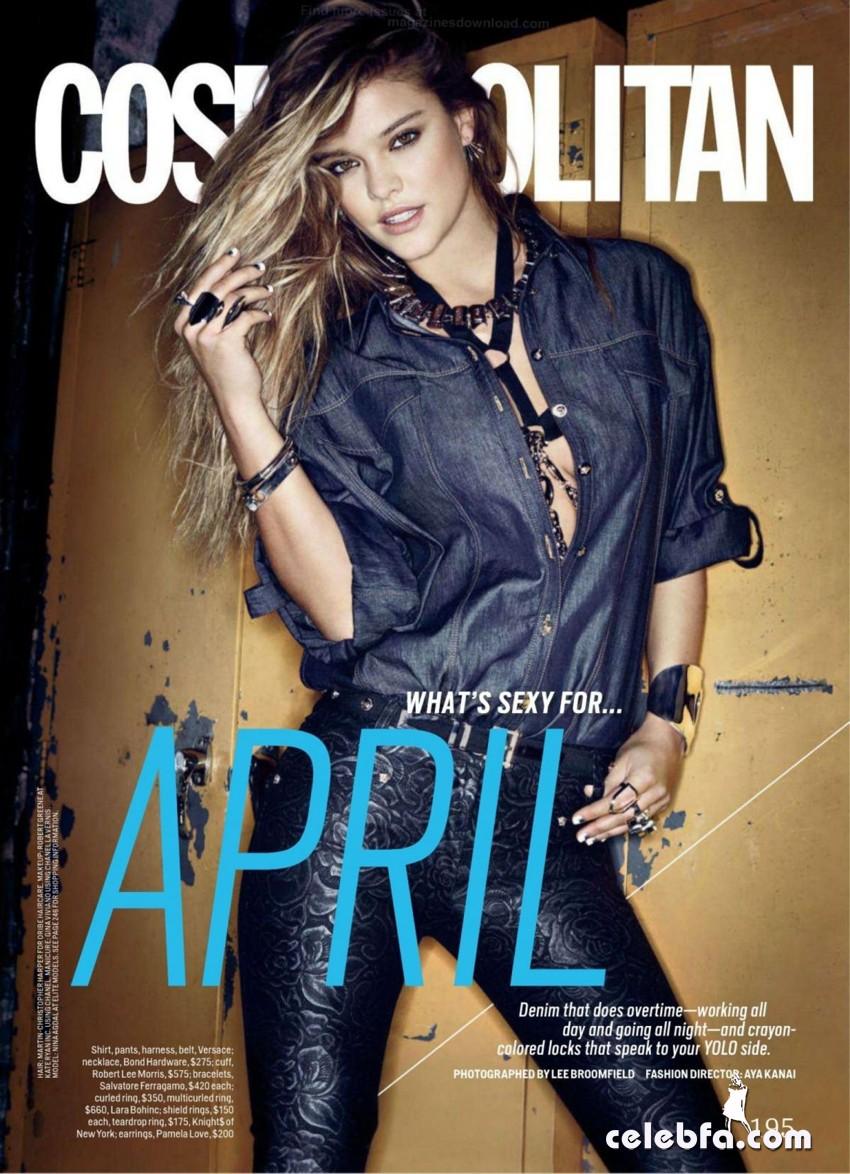 nina-agdal-in-cosmopolitan-april-2014-CelebFa (1)