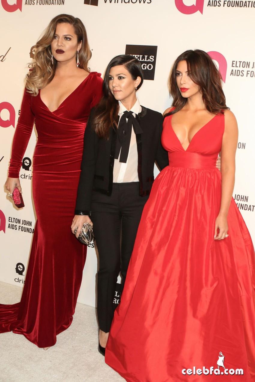 Kim, Khloe & Kourtney Kardashian-CelebFa (1)