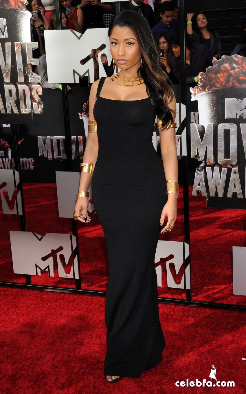 nicki-minaj-at-mtv-movie-awards-2014-CelebFa (1)