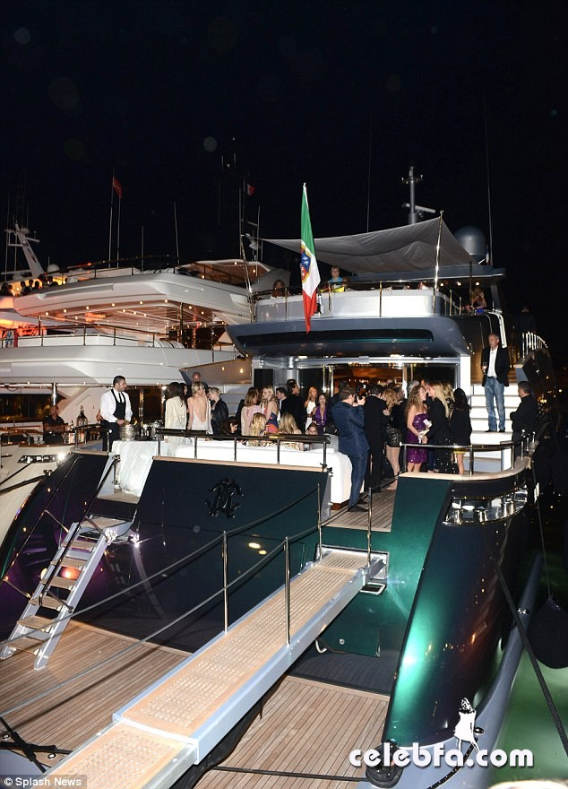 Roberto Cavalli's Cannes Film Festival yacht party-CelebFa (1)