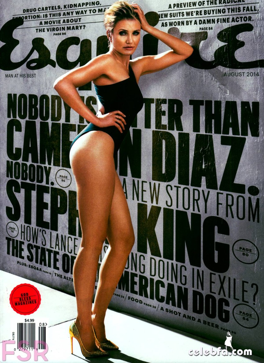 Cameron Diaz – Esquire Magazine (1)