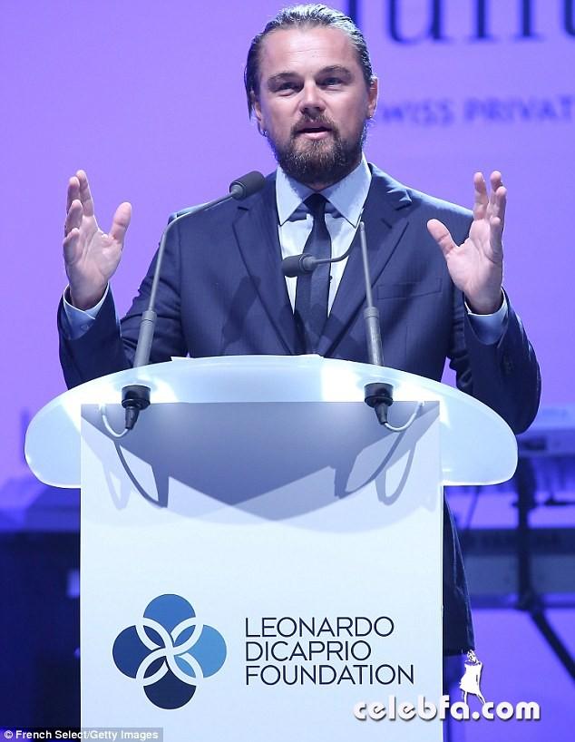 Leonardo DiCaprio Foundation gala (1)