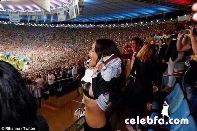 Rihanna - Germany - World Cup (1)