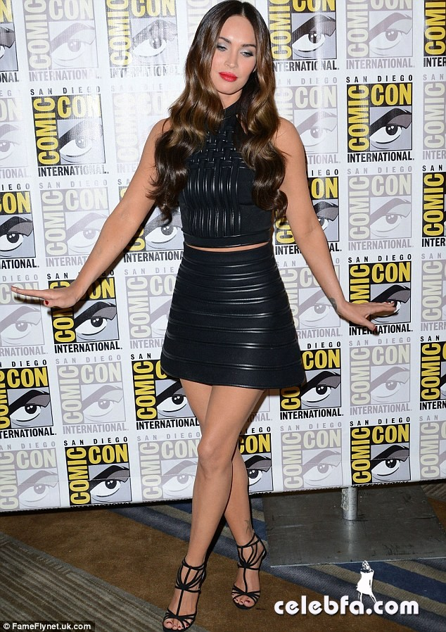 Megan-Fox-Comic-Con (1)