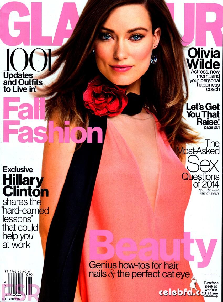 Olivia Wilde – Glamour USA September 2014_CelebFa (1)