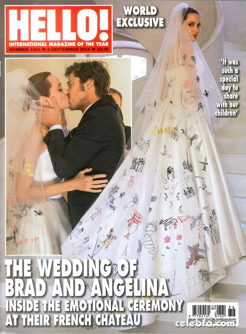 Angelina Jolie & Brad Pitt's Wedding Photos_CelebFa (1)