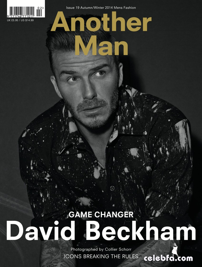 David Beckham AnOther Man Magazine (1)