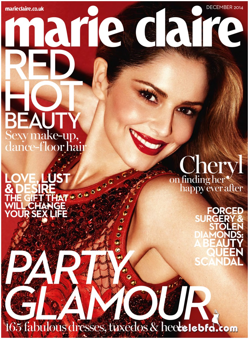 Cheryl Cole UK Marie Claire  (1)