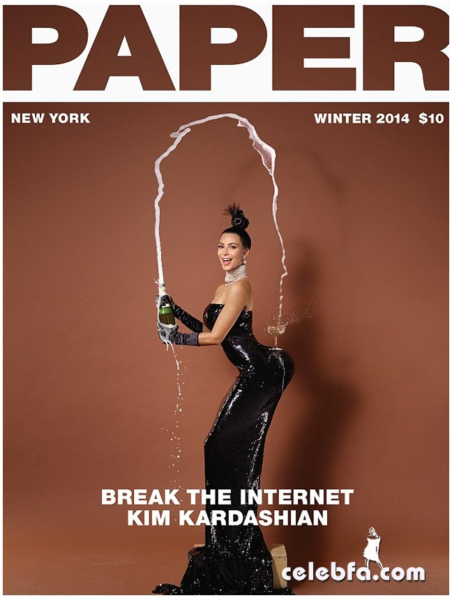 Kim Kardashian Nude for 'Paper' Magazine (1)