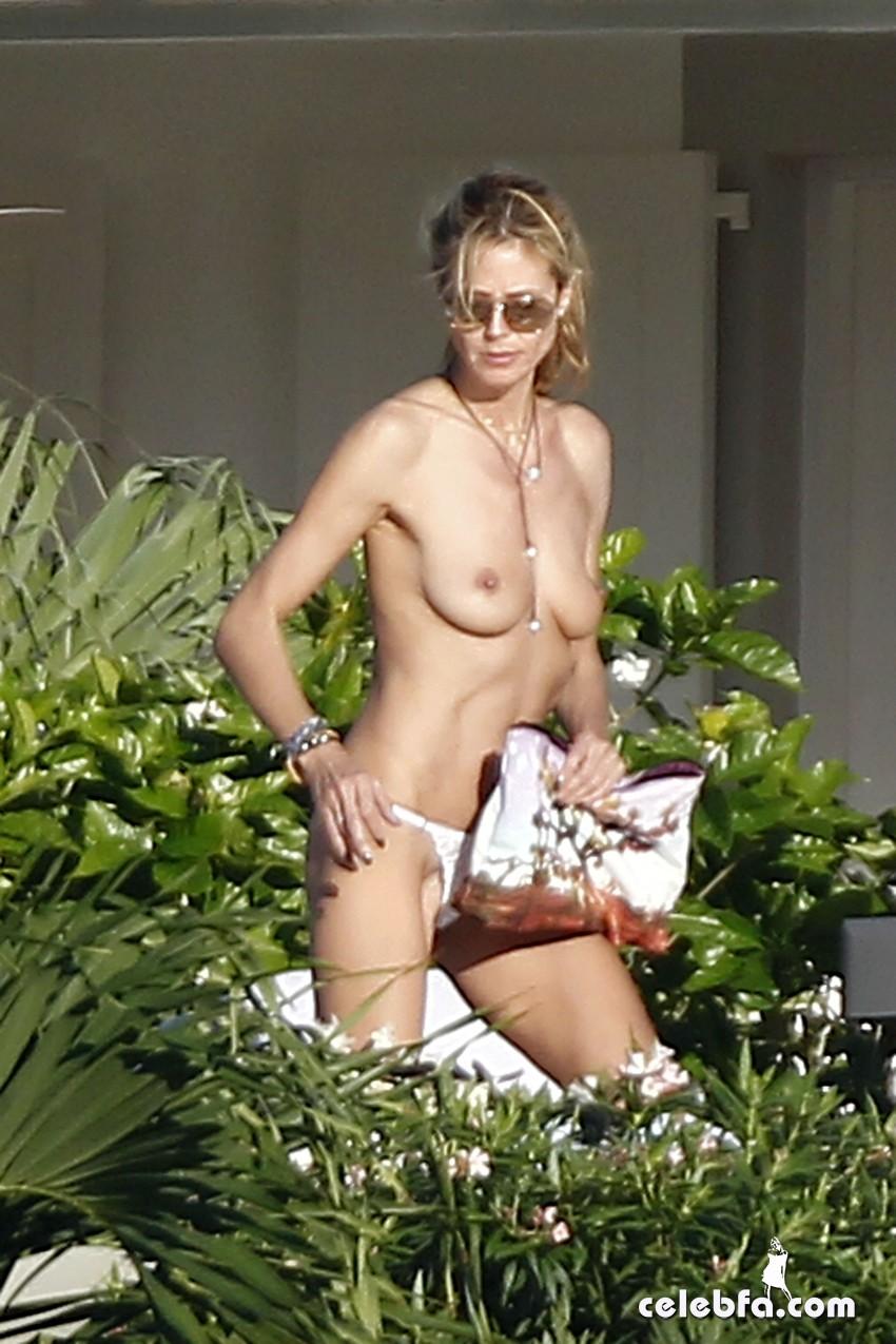 Heidi Klum - topless (4)