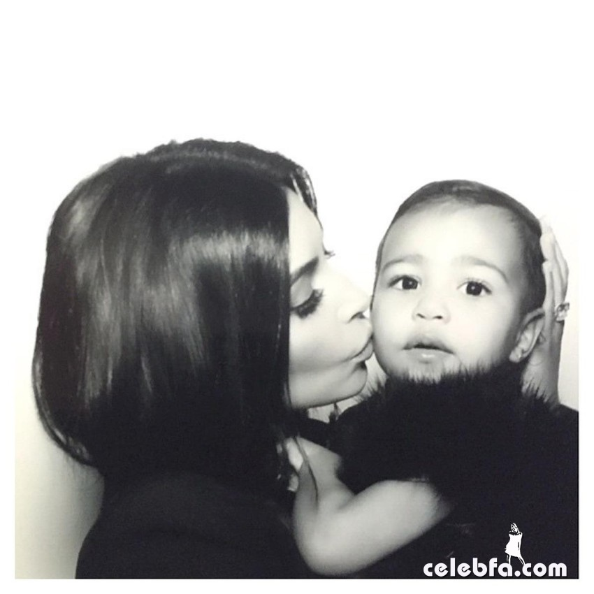 kim-kardashian-north-west-CelebFa (1)