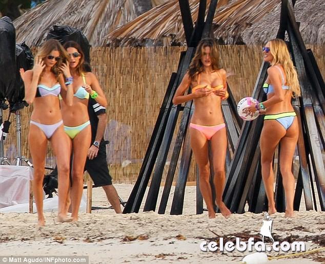 Alessandra Ambrosio and Candice Swanepoel  (6)