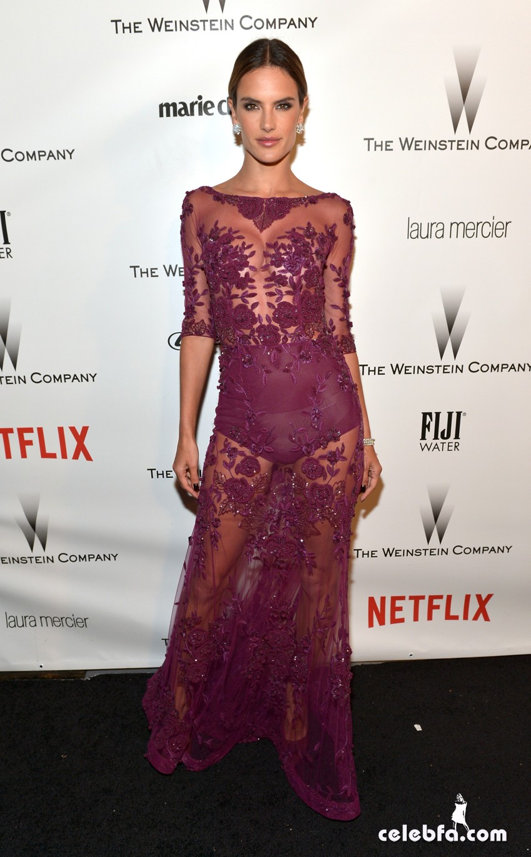 Alessandra Ambrosio - The Weinstein Company (2)