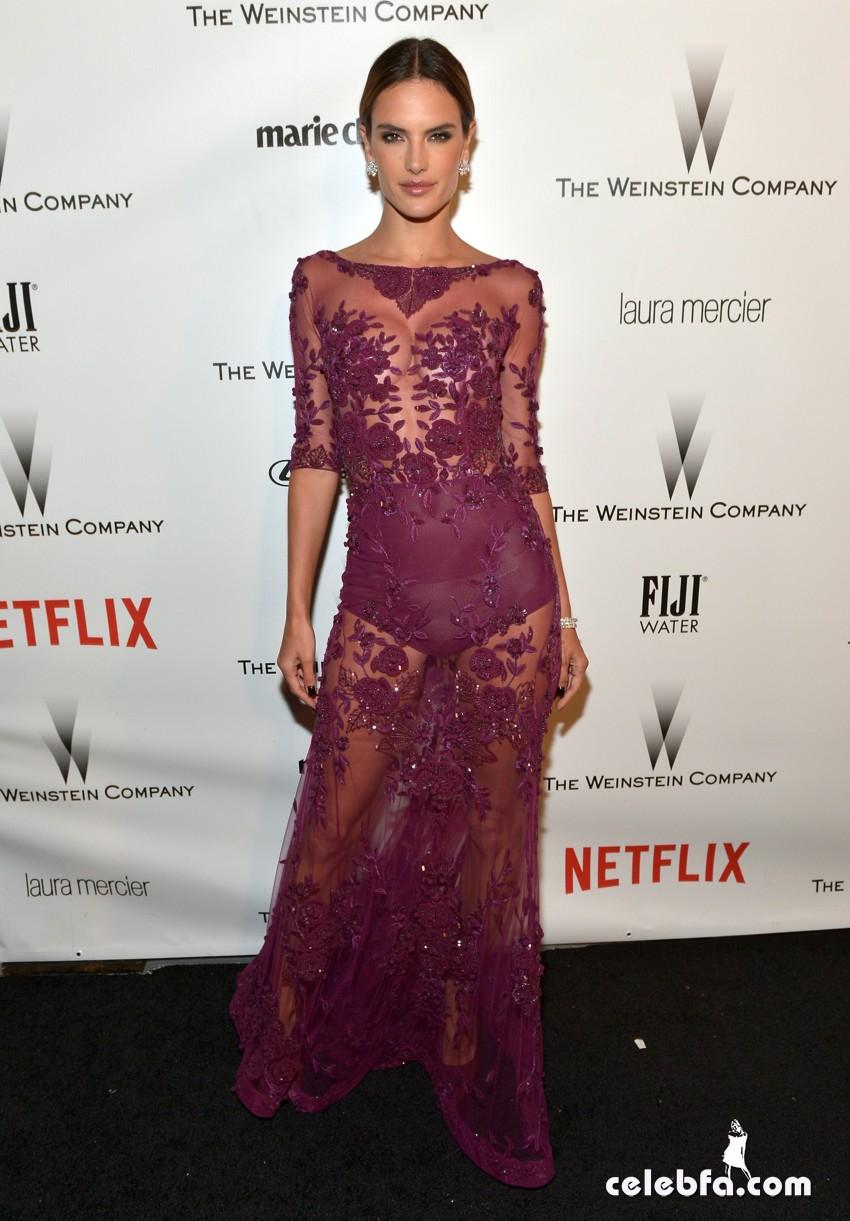 Alessandra Ambrosio - The Weinstein Company (4)