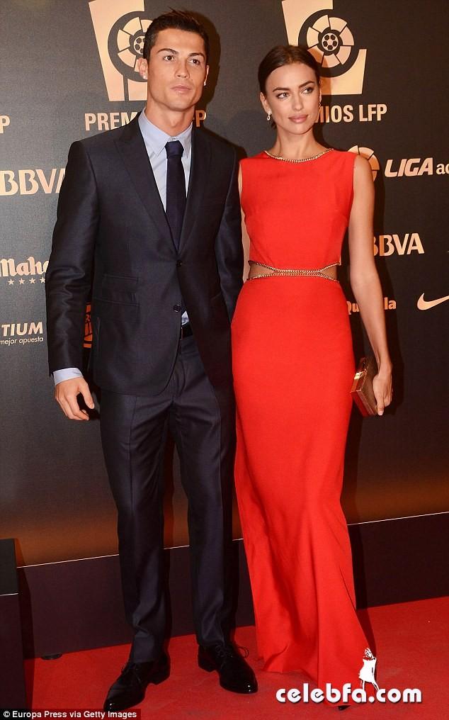 Cristiano Ronaldo & Irina Shayk Split (1)