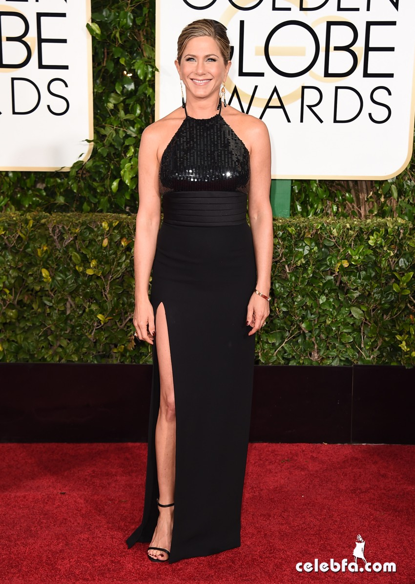 Jennifer Aniston - 72nd annual Golden Globe Awards (1)