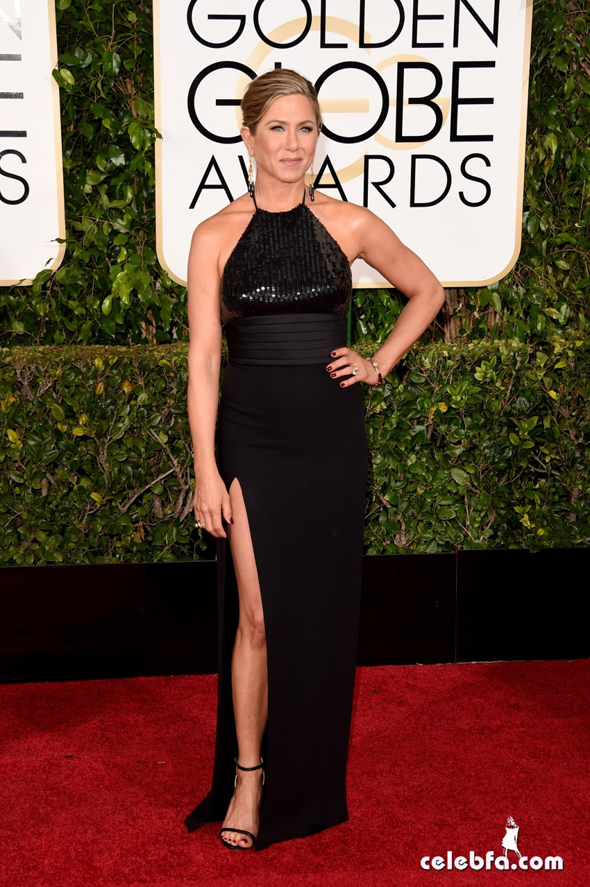 Jennifer Aniston - 72nd annual Golden Globe Awards (2)
