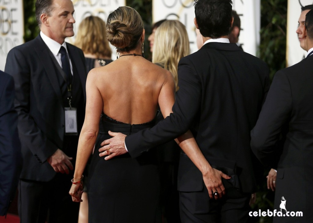 Jennifer Aniston - 72nd annual Golden Globe Awards (4)