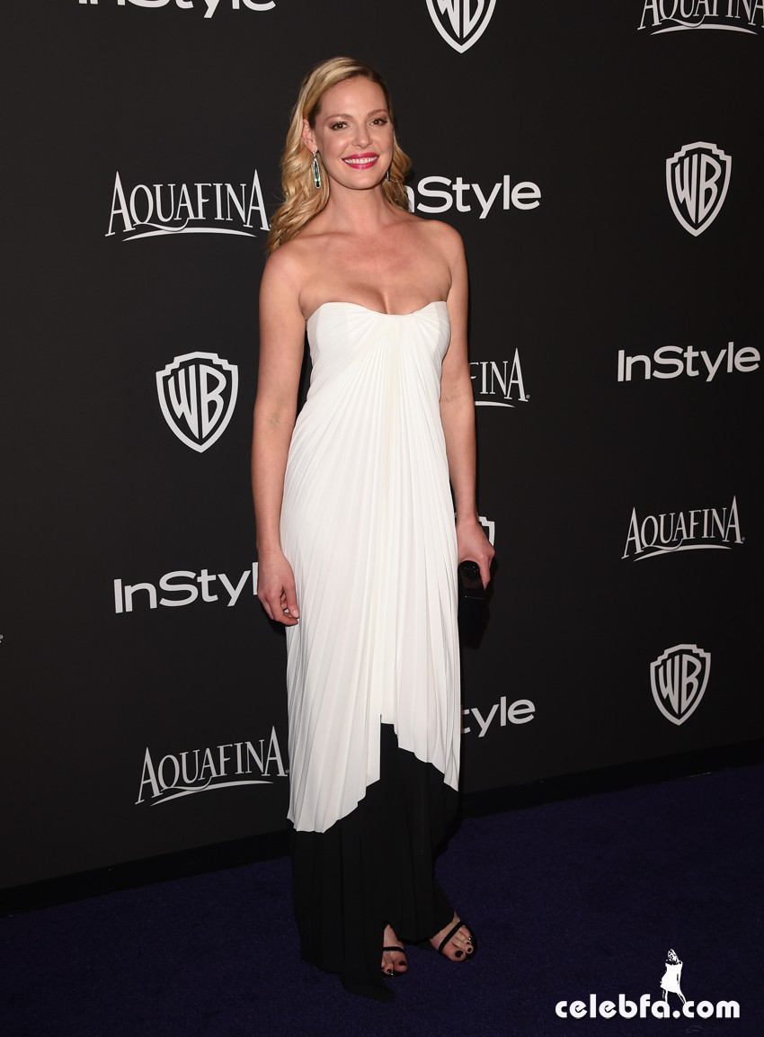 Katherine Heigl - 2015 InStyle And Warner Bros. Golden Globe (2)