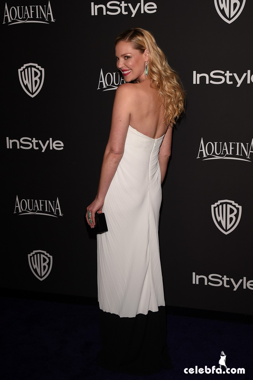 Katherine Heigl - 2015 InStyle And Warner Bros. Golden Globe (3)