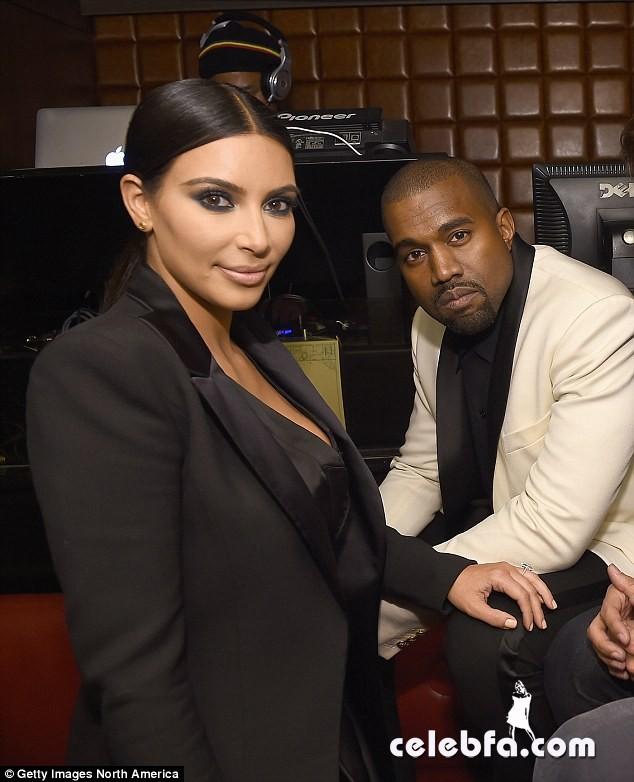 kim-kardashian-kanye-west-pda-john-legend-birthday-party (6)
