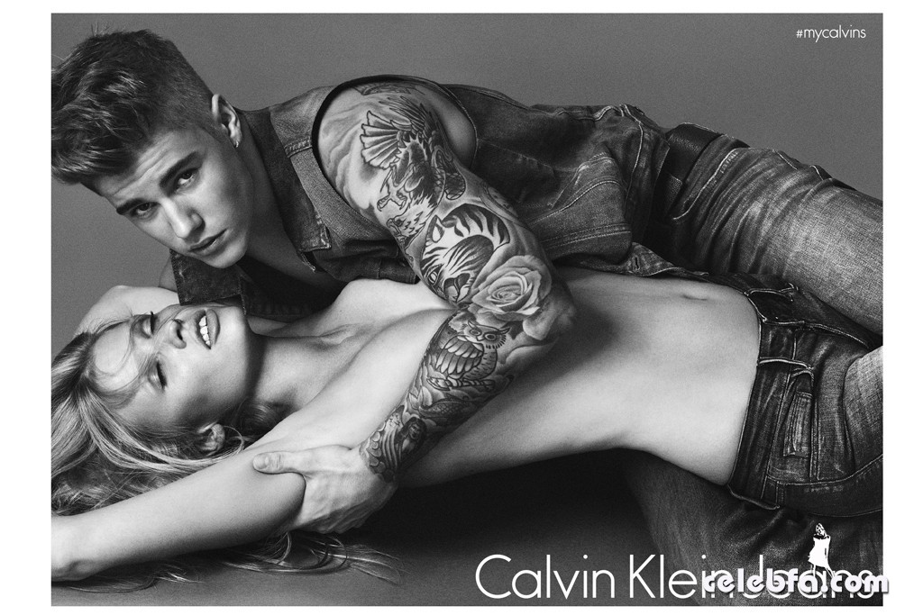 Lara-Stone-Justin-Bieber-Calvin-Klein-Jeans-Spring-2015 (7)