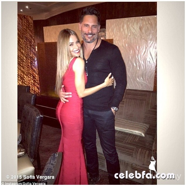 Sofia Vergara & Joe Manganiello  (1)