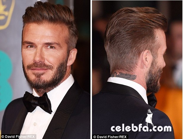 David Beckham - 2015 BAFTA  (4)
