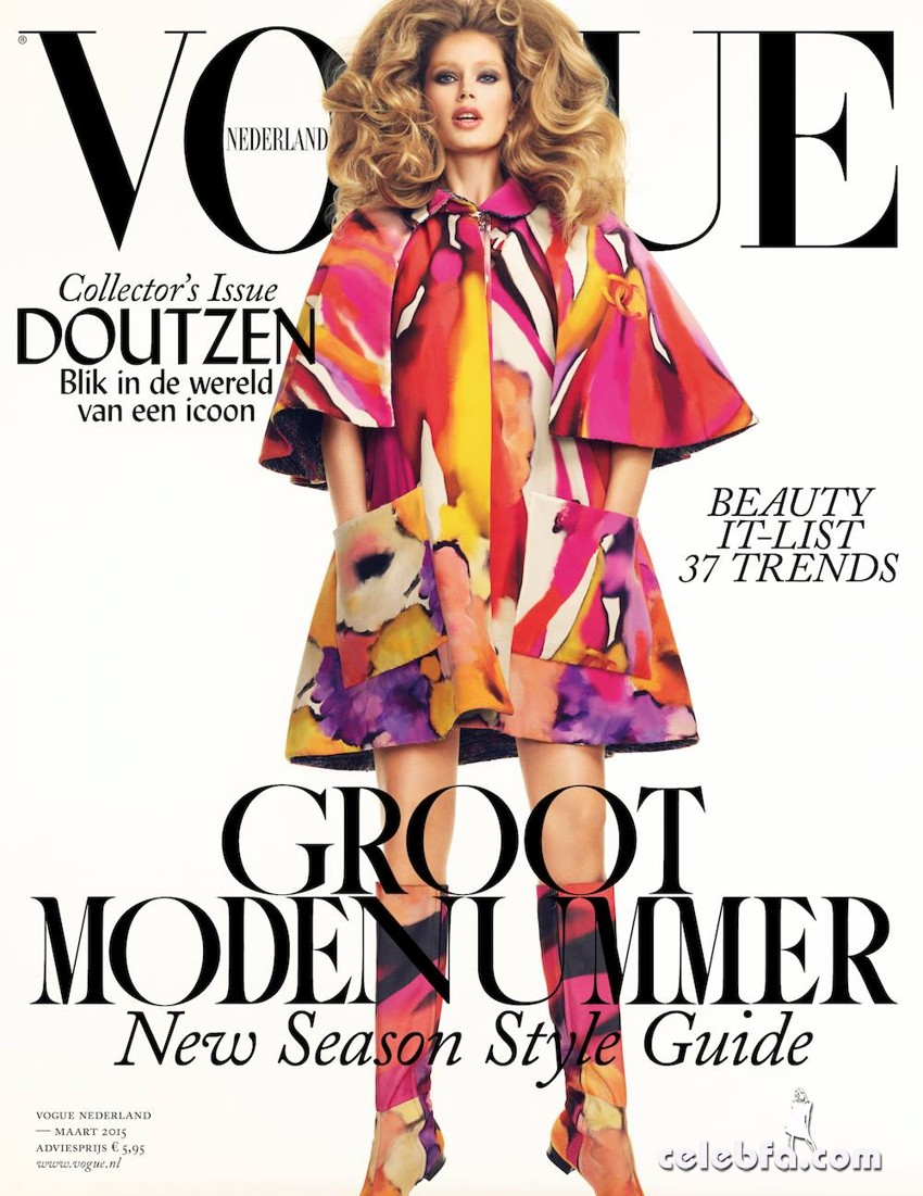 Doutzen Kroes Vogue Netherlands March 2015 (29)