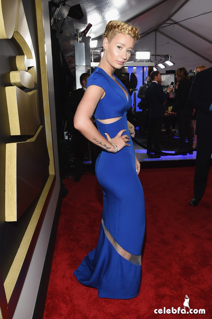 Iggy Azalea - The 57th Annual GRAMMY Awards (3)