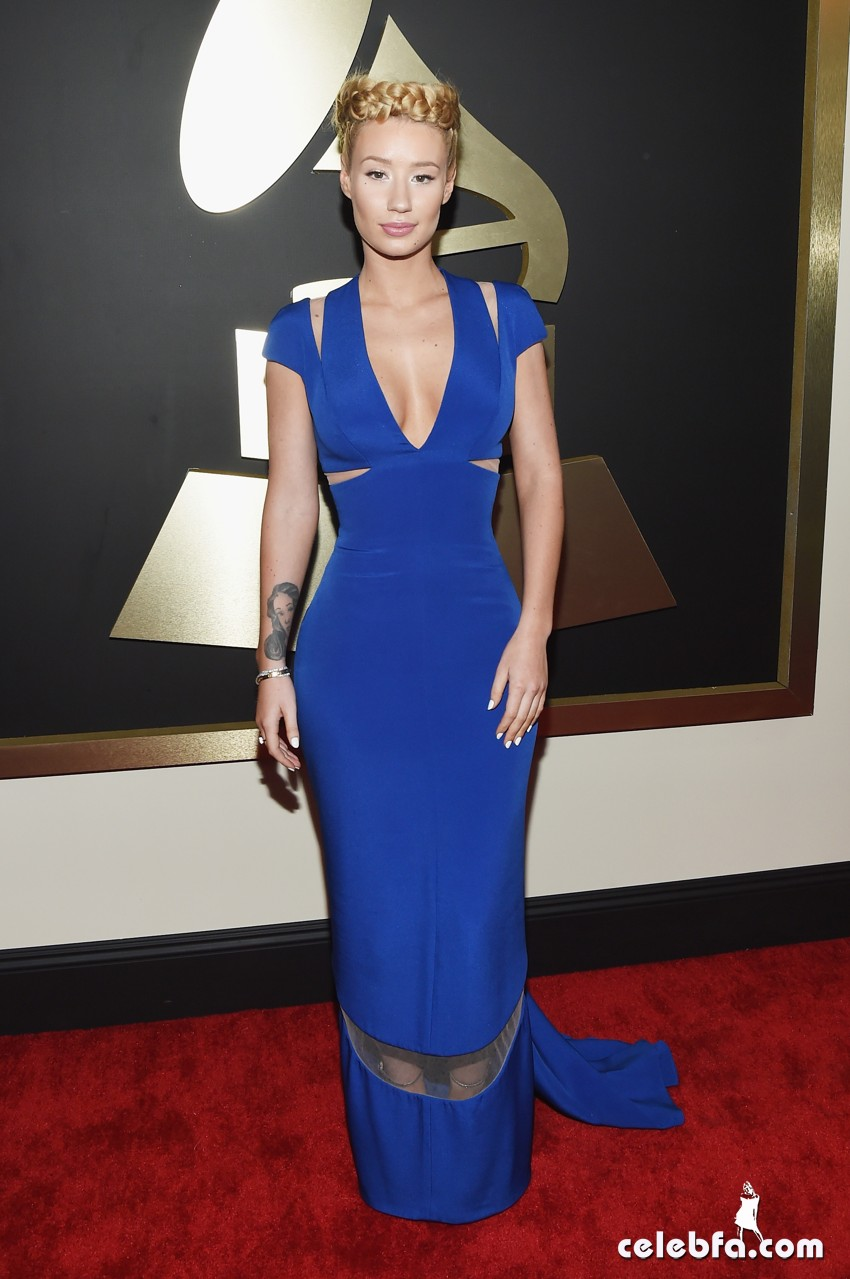 Iggy Azalea - The 57th Annual GRAMMY Awards (5)