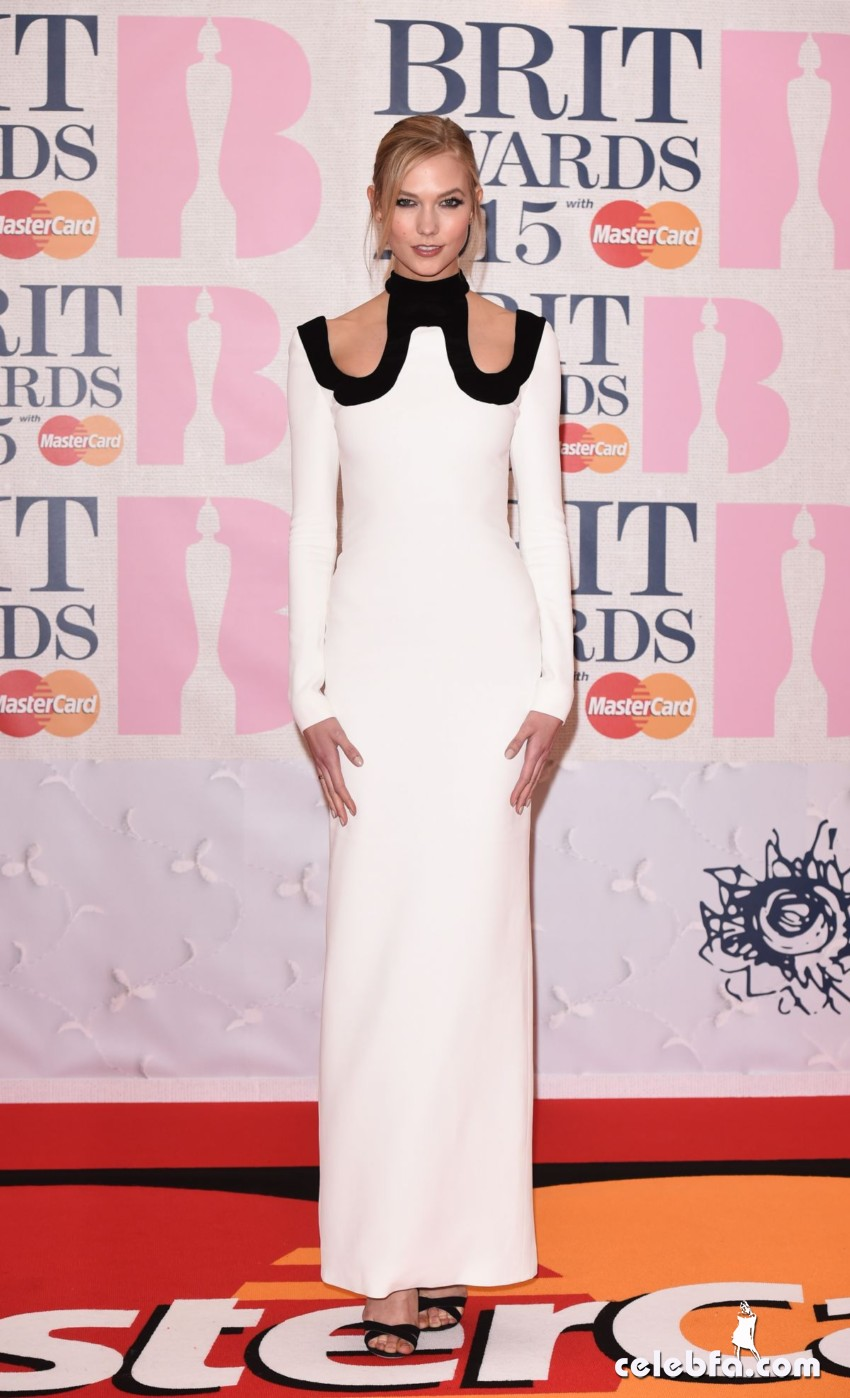 karlie-kloss-at-brit-awards-2015-in-london (3)