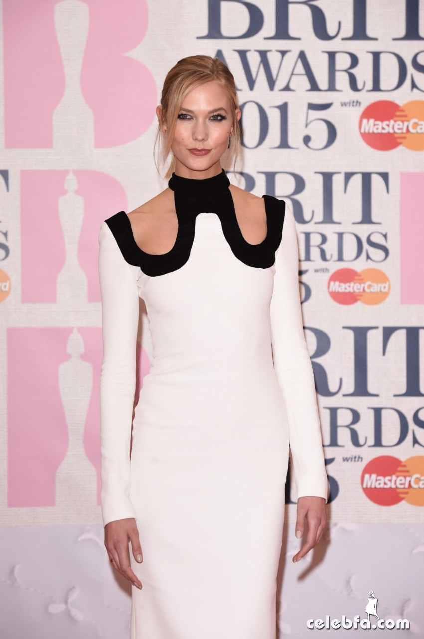 karlie-kloss-at-brit-awards-2015-in-london (4)