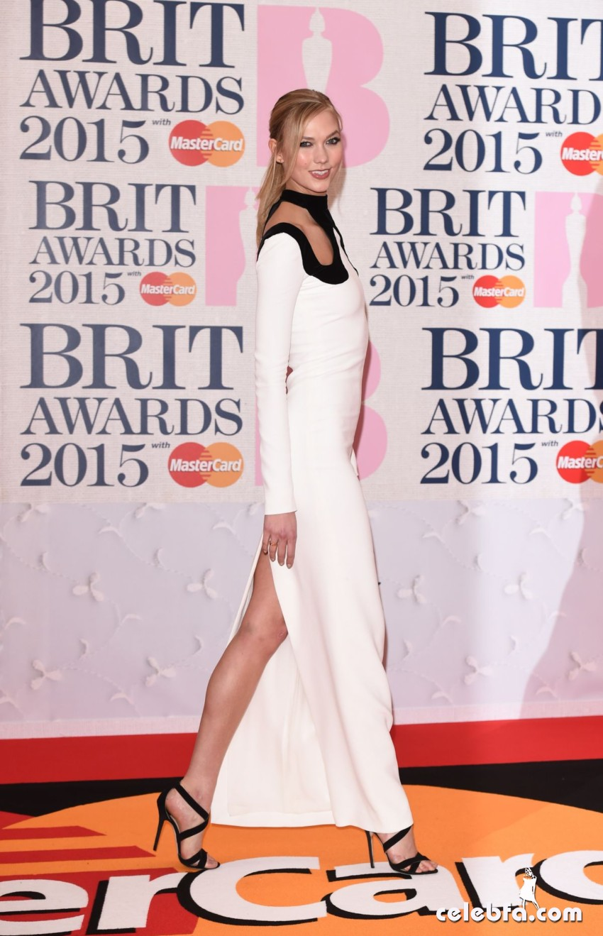 karlie-kloss-at-brit-awards-2015-in-london (5)